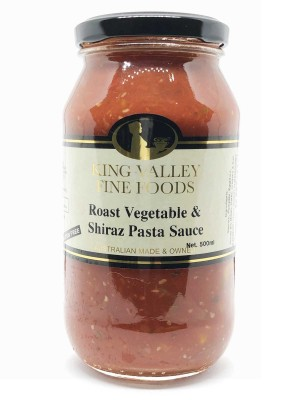 Roast Vegetable & Shiraz Pasta Sauce